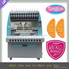 silicone label /trademark/logo/brand making machine