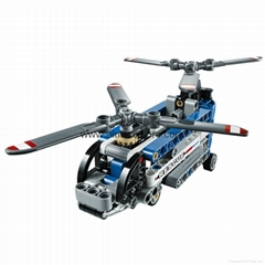 Lego 42020 Technic Twin-rotor Helicopter Set