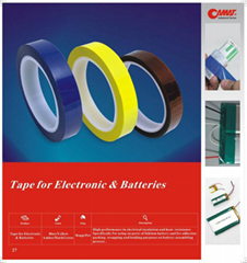 Tape for electronic & batteries,