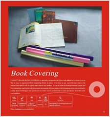 Book covering& shelf liner & self