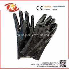 PVC working gloves from Dezhou Jingcai Glove-making Co.,Ltd