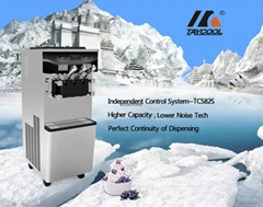 Taycool Independent control system soft ice cream machine with water cooling sys