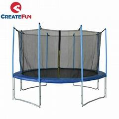 CreateFun 14ft Outdoor trampoline with safety net