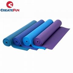 CreateFun Non-Slip Eco Custom Print PVC Yoga Mat
