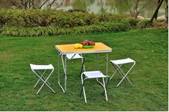 folding table chair