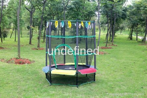 trampoline with handle 3