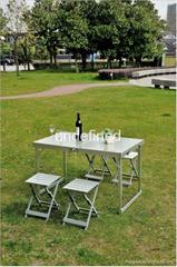 alu folding table