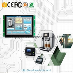 "industrial touch screen 5.6"" monitor with RS232 interface"