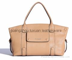 Most popular leather handbag for lady