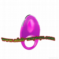 Health and Slimming Silicon Magnetic Toe cock Ring Power Cock Ring