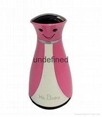 Portable fetal  doppler monitor with bluetooth