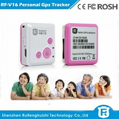 portable personal gps tracker mini gps tracker for children with free tracking s