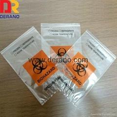 LDPE printed specimen bag