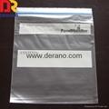 Custom printed freezer ziplock bags