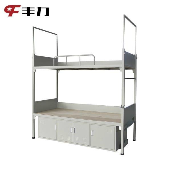 Steel School Dormitory Double Bunk Bed 4