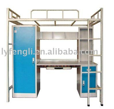 Steel School Dormitory Double Bunk Bed 2