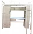 Steel School Dormitory Double Bunk Bed 3