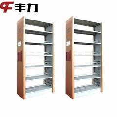 School Library Metal Frame Book Shelf Steel Racks