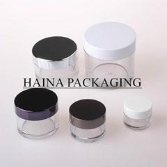 clear PETG jar , plastic cream jar ,HN-PETG-MY  PETG plastic Jar and AS plastic