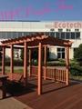 new design exterior landscape flooring wpc deck 4