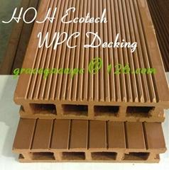 none-slip anti-pest wood plastic composit decking