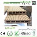 Outdoor wood groove board antisplit eco