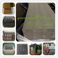 CE SGS certified wpc DIY tiles used outdoor building 3