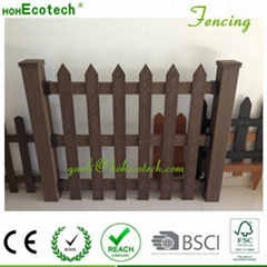 WPC fencing customized size landscape horticulture wood