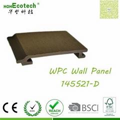 vinyl wood look wall flooring anti-UV crack-free WPC Wall covering panels