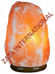 Himalayan Rock Salt Lamps Natural Ionizer 2.2 to 2.8 Kg 6 Feets Cord Bulb w Base