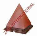 Himalayan Rock Pyramid Salt Lamps 6 x 5