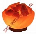 Himalayan Rock Salt Lamp Fire Bowl 3.5 x