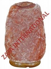 Himalayan Aroma Rock Salt Lamps 2.3 Kg 4.5 x 4.5 x 7 Inches Cord Bulb w Base