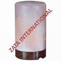 Himalayan Cylinder Salt Lamps 4 x 4 x 6