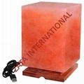 Himalayan USB Salt Rectangular Lamps 0.8