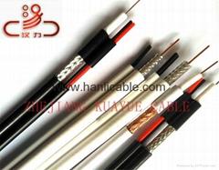 coaxial cable,RG6,RG59,RG58,RG11