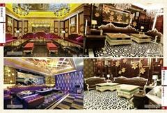 綠森傢具廠家直銷歐式KTV沙發