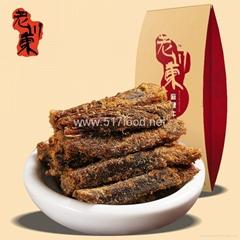 老川东手撕牛肉干, 100g独立小包装牛肉条, 麻辣牛肉干, 五香牛肉干