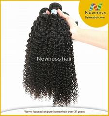 cheap brazilian hair 6a grade kinky curly hair bundles