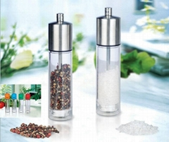 acrylic salt pepper mill
