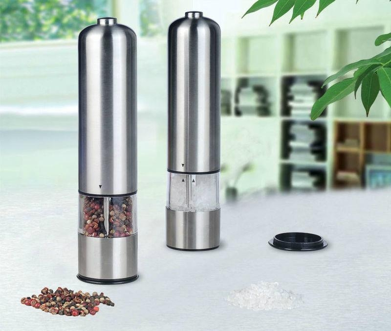 hot sell Electric salt or pepper mills 1
