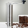Stainless steel coffee mill 3