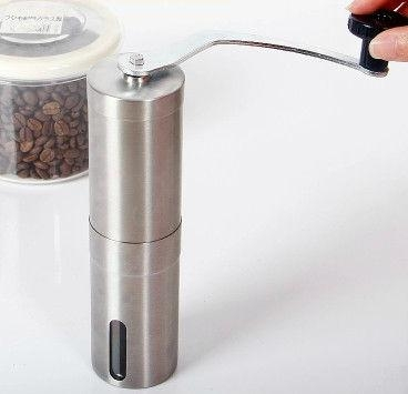 Stainless steel coffee mill 4