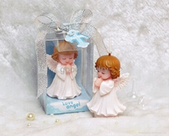 Baby Angel Candle For Wedding Party Birthday Shower Souvenirs Gifts Favor