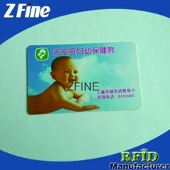 pvc smart access control card