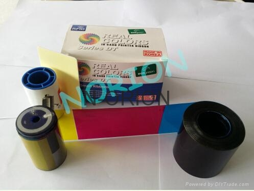 Datacard 535000-003 YMCKT 500 Prints Ribbons and Cleaning Kits Made in Korea Dat 1