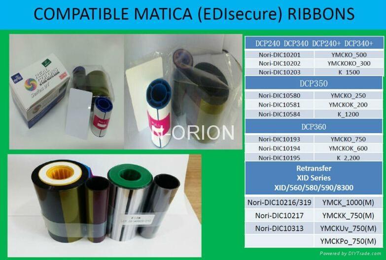 Made in Korea Datacare Ribbons535000-006 YMCKTKT 300 Prints Datacard CD800  CP60 3