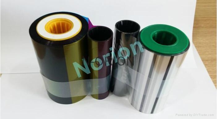 CompatibleEDIsecure Ribbon DIC10313 YMCKUv 750 Prints and Retransfer Made in Kor 1