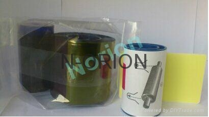 EDIsecure DIC10201 YMCKOP Color Ribbons 500 prints Made in Korea for Matica DCP2 1