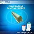 liquid pad printing silicone rubber